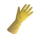 Latex handsker gul