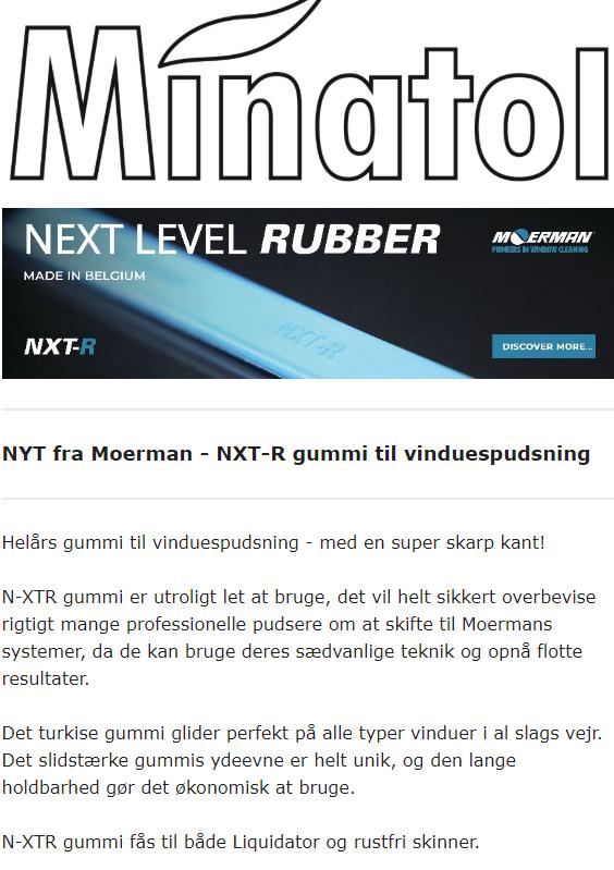 Moerman N-XTR gummi